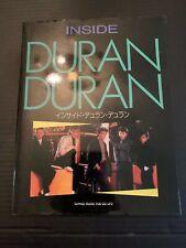 1984 Inside Duran Duran Shinko Music Publisher Japan Magazine