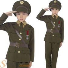 Disfraces de niño militares de poliéster