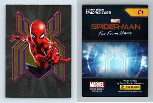 Marvel Spider-Man Far From Home #C1 Panini 2019 Trading Card