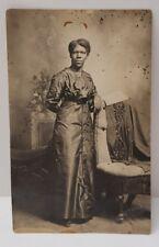 RPPC African American Woman Staunton Va, Blakemore Studios