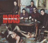 INXS ‎Maxi CD Please (You Got That...) - England (EX+/EX)
