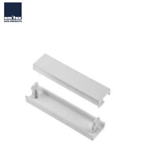 Emitex Data Quarter Blank Module 12.5mm White (Sold in packs of 2)
