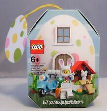 LEGO Ostern 853990 Osterhäuschen Häsin Roller Huhn Eier exklusiv NEU RAR