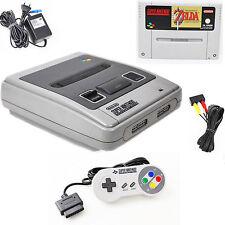 Super Nintendo SNES Konsole PAL + Controller + Zelda A Link to the Past + Zubeh