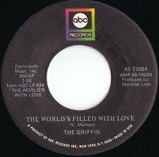 Griffin ORIG US Promo 45 World's filled with love VG+ '68 ABC 11064 Psyche Rock