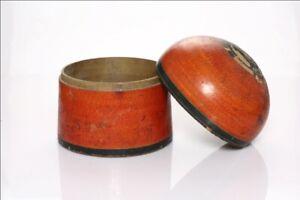 Antique Old Wooden Rare Kashmir WorK lacquer Box