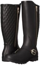 Rain Boot Steve Madden Women's Boot Northpol Tall Rain Boot Black 9M
