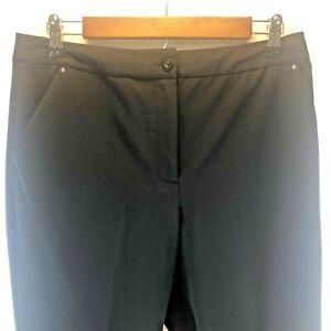 EP Pro Tour Tech Women's Stretch Lightweight Golf Capri Pants Black Size 8