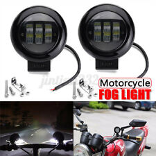 4.5''Inch Round LED Work Light Spot Motorcycle Bicycle Truck Fog/Driving Light