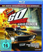GONE IN 60 SECONDS - NUR NOCH 60 SEKUNDEN (Blu-ray Disc) Das Original NEU+OVP