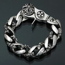 Guntwo Korean Mens Fashion Bracelets - Biker, Hip Hop Metal Bracelet B0073 US