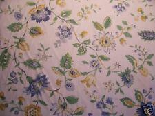Fabric-Oleander-Seaside -- floral on creme, beautiful