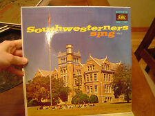 2 Records LP Southwestern Assemblies of God College 1960s Pentecostal