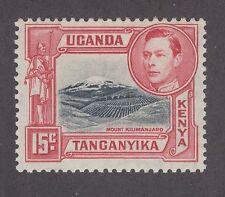 Kenya Uganda Tanganyika SG 137 MLH. 1938 15c KGVI