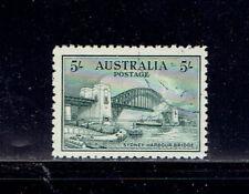 Australia  #132 1932  5/-   Superb Used Light CDS Cancel Gray Green - SCV $350