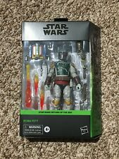 "Star Wars Black Series Boba Fett Deluxe Figure 6"" Figure In Hand"