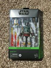 """Star Wars Black Series Boba Fett Deluxe Figure 6"""" Figure In Hand"""