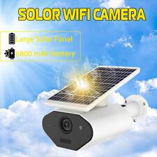 Solar Outdoor Night Vision Mobile Phone WiFi Surveillance IP Camera Waterproof