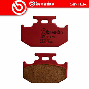 Beläge Bremse BREMBO Sinter Hinten für Cannondale MX 400 400 2000>2002