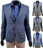 Herren Freizeit Sakko Business Anzuge Blazer Jackett Mantel GRÖSSEN M - 5XL MIX
