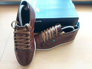 Boxfresh Herren Schuhe / Sneaker, braun, Leder, Größe 41