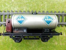 E13 Fleischmann Spur 0 Güterwagen Kesselwagen mit BrHs Aral GFN 46585