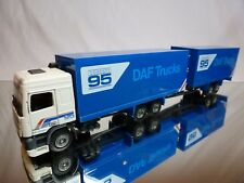 TEKNO HOLLAND DAF 95 380 ATI TRUCK + TRAILER - CONCEPT 95 1:50 - GOOD CONDITION