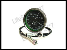 """Brand New Royal Enfield Smiths Speedo 0-120 +54"""" Long Speedo Cable- Best Quality"""