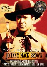 Classic Westerns - Johnny Mack Brown Four Feature (DVD, 2007)