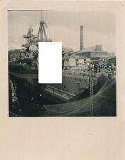 Brest ? Kriegsmarine Kriegsschiff schwerer Kreuzer Admiral Hipper im Dock 1941