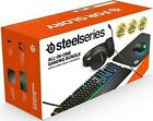 SteelSeries All-in-One Gaming Bundle Headset Keyboard Mouse pad Mouse BRAND NEW!