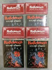 Halloween Stunt Board Game Vintage Hard to Find Lot of 4 Printed in Hong Kong