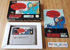 Super Nintendo SNES Tintin Au Tibet PAL