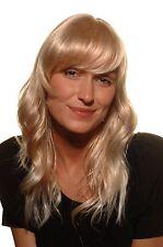 Damen Perücke Blond-Mix leicht gewellt mit Pony halblang 45 cm 5019-27T613 Wig