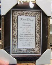 """7"""" x 9"""" Tabletop or Wall Framed Art Print  HOUSE BLESSING Prayer Bless this...."""