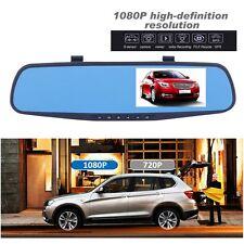 """4.3"""" Dual Lens Kamera HD 1080P KFZ AUTO DVR Dashcam G-sensor Videoregistrator YA"""