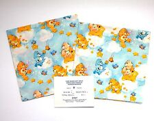 8 SHEETS Vintage Care Bear Wrapping Paper Regal Greetings Bears Gift Wrap Canada