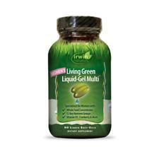 Living Green Liquid-Gel Multi for Women's Irwin Naturals 90 Softgel