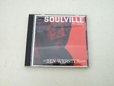 THE BEN WEBSTER QUINTET - SOULVILLE - JAPAN CD VERVE RECORDS NO OBI - POCJ 2061