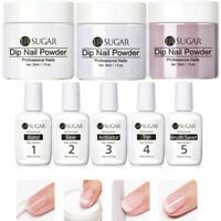 8 Pcs UR SUGAR 30ml Dipping Nagel Pulver French Nail 15ml Dip Nail Powder Liquid