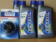 Ölwechselset Suzuki GSF Bandit alle : 4 L Ecstar Standard 10W40 + Originalfilter