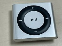 APPLE IPOD SHUFFLE 4TH GEN GENERATION 2GB SILVER A1373