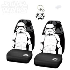 3PC STAR WARS STORMTROOPER CAR SEAT COVER WITH KEYCHAIN SET FOR MAZDA