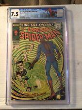 Amazing Spider-Man King-Size Special #5 CGC 7.5 Marvel Comics 1st Parker Parents