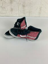 Vans Off The Wall Women size 9, Men Size 7.5 Galaxy Blue and Pink back zip
