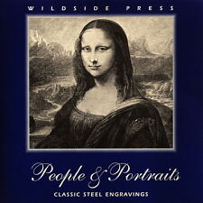 "Wildside Press ''Peoples & Portraits"" 19th Century steel engravings CD-ROM"