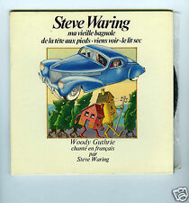 45 RPM EP STEVE WARING CHANTE EN FRANCAIS WOODY GUTHRIE