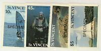 St. Vincent #1095-1098 MNH Specimen CV$8.50 Tourism Windsurfing Scuba Chartering