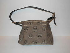 Dooney Bourke Signature D&B Cloth Handbags Vintage   Tan & Brown