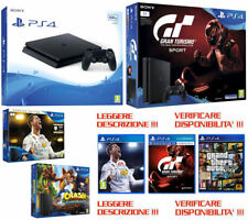 Sony PLAYSTATION 4,PS4 Slim 500GB,1TB,FIFA,GTSPORT,GTA,Nuova,Garanzia ITA,PAYPAL